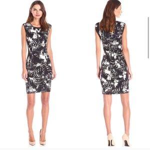 Lark & Ro. Abstracts. Scuba dress. Size 4